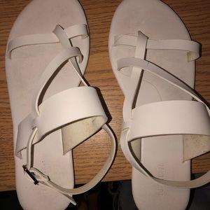 white sandals 6.5